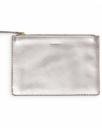 russell and hazel leather zip pouch