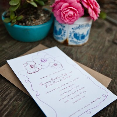 Frida-Khalo-Wedding-Invitations-Floral
