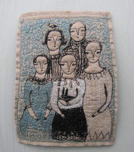 Textile Artwork Cathy Cullis