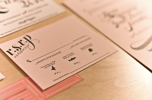 Pink-Gold-Letterpress-Wedding-Invitation-RSVP-Card