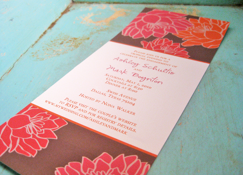 invitations for a surprise wedding