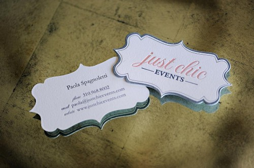 diecut letterpress business cards5 500x332 Lovely Die Cut Business Cards