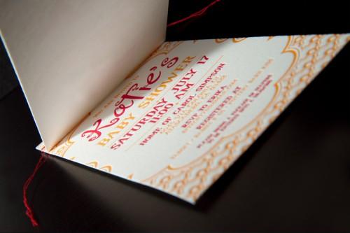 red-orange-letterpress-baby-shower-invitations