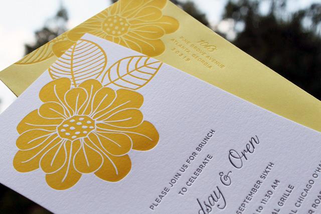 After Wedding Invitation Wording: Wedding Day-After Brunch Invitations