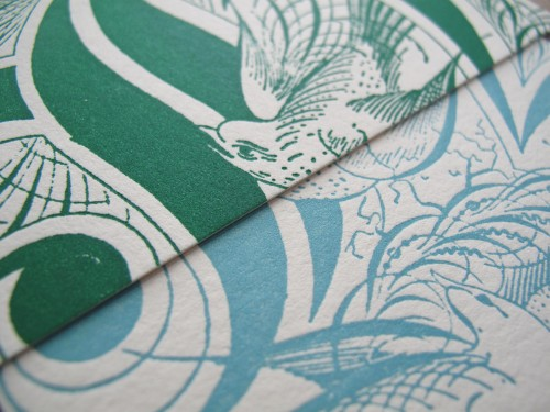 Aqua-Emerald-Letterpress-Wedding-Invitation