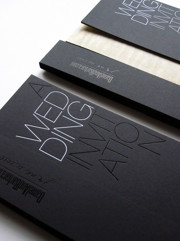 Modern Wedding Invites correctly perfect ideas for your invitation layout