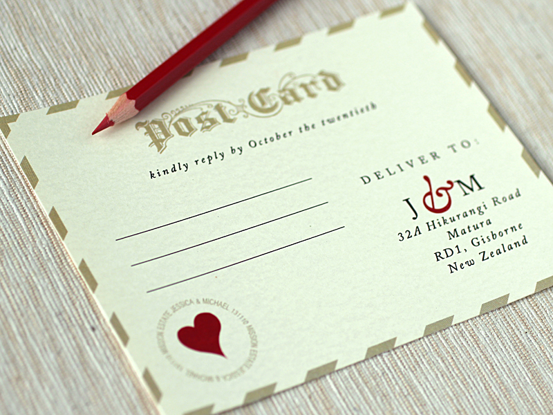 Love letter inspired wedding invitations love letter wedding invitations rsvp stopboris Choice Image