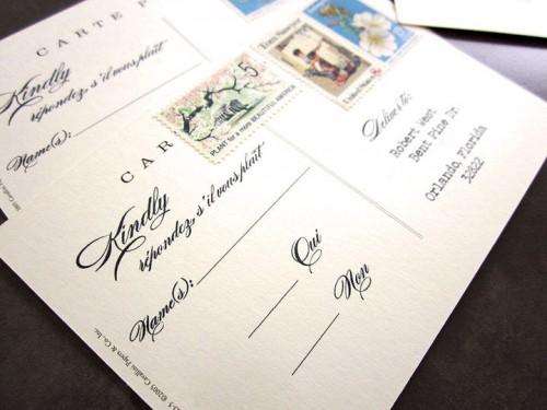 Wedding-Invitation-RSVP-Postcard-Vintage-Stamps