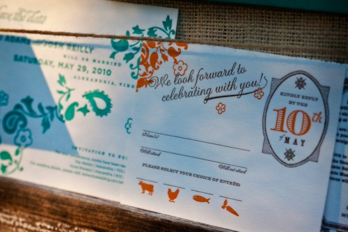 Virginia-Balsa-Wood-Orange-Blue-Wedding-Invitations-RSVP