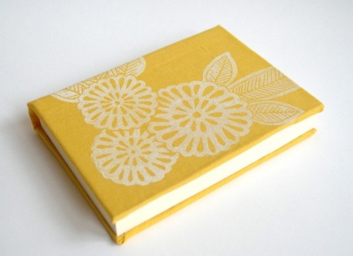Hand-printed-linoleum-cut-journal