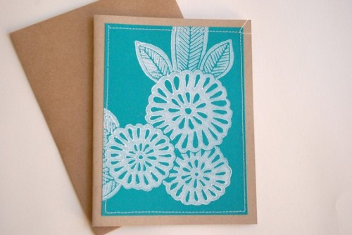Hand-printed-linoleum-cut-stitched-note-cards
