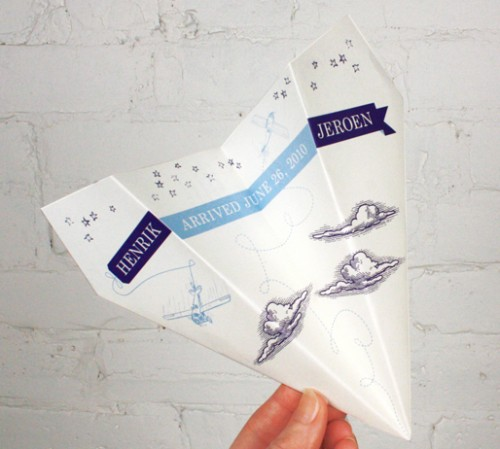 paper-airplane-baby-boy-birth-announcements