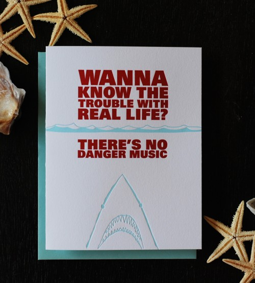 shark-danger-music-greeting-card