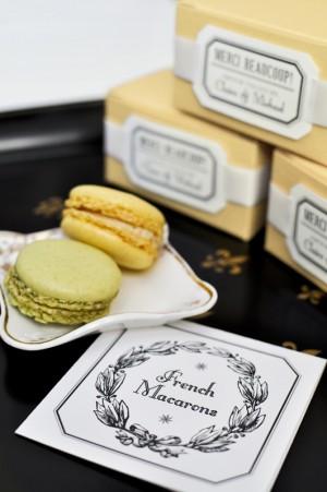 Parisian-Wedding-Invitation-Inspiration-Macarons