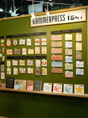 National Stationery Show Hammerpress3 300x400 National Stationery Show 2011   Part 6