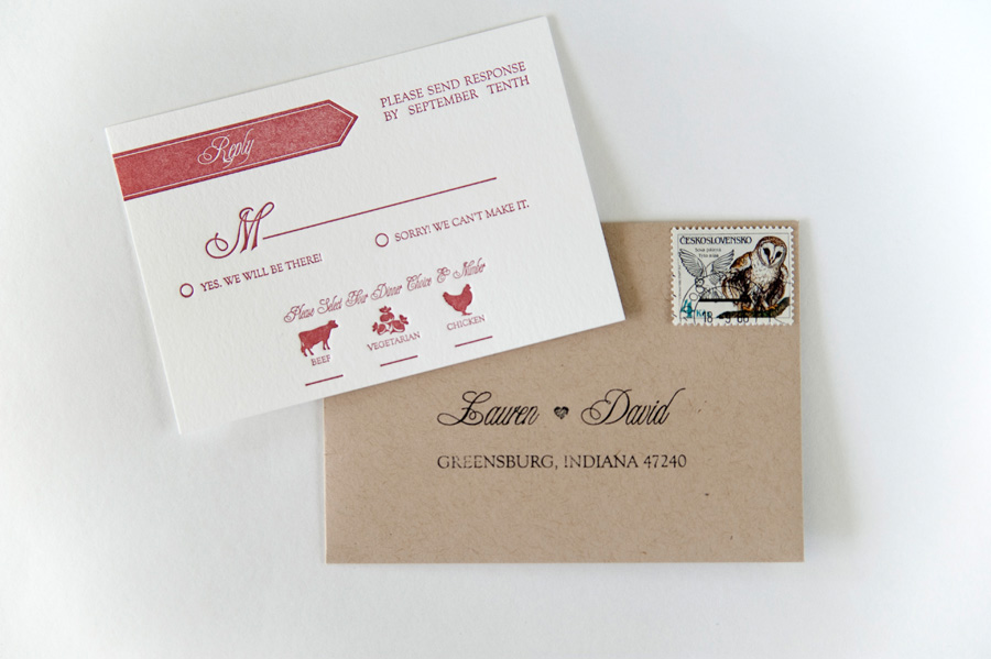 Wedding Invitation Rsvp Envelope Etiquette ~ Matik for .