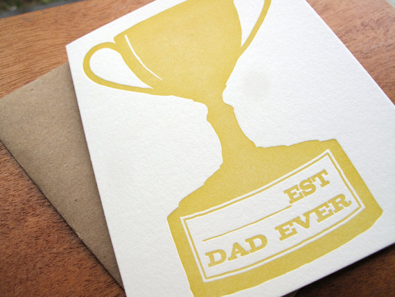 fathers day trophy card seasonal stationery s day cards part 2 4450