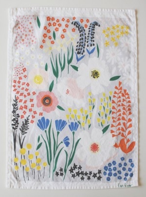 Floral-Tea-Towel-Lisa-Rupp