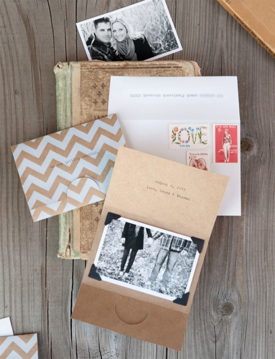 Kraft-Paper-Chevron-Stripe-Save-the-Dates