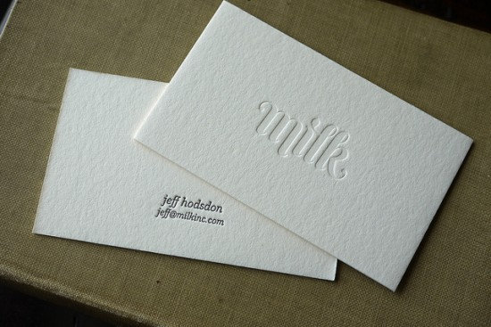 Milk-Blind-Impression-Business-Card