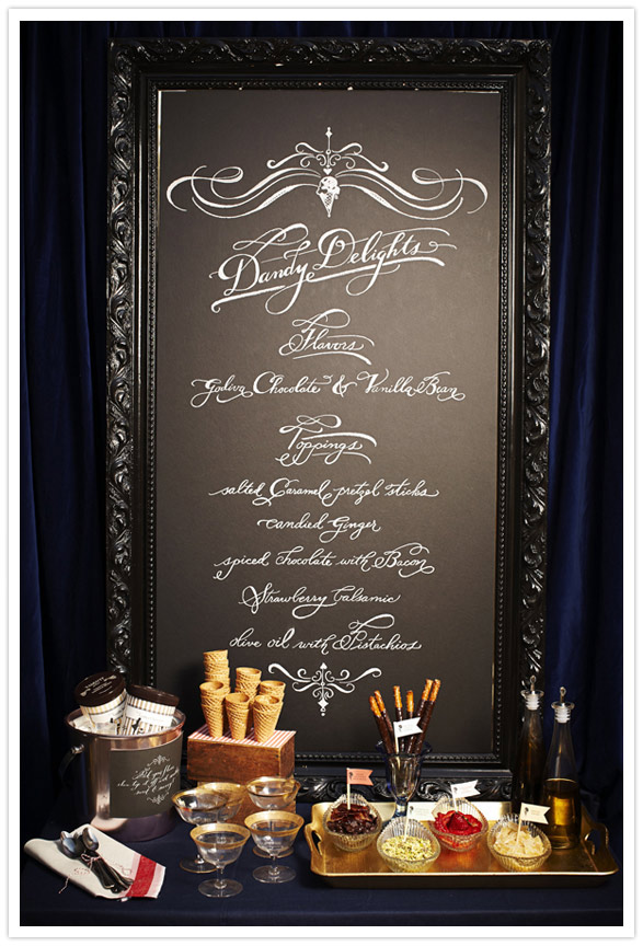 wedding chalkboard menu idea 300x441 Wedding Details Creative Menu