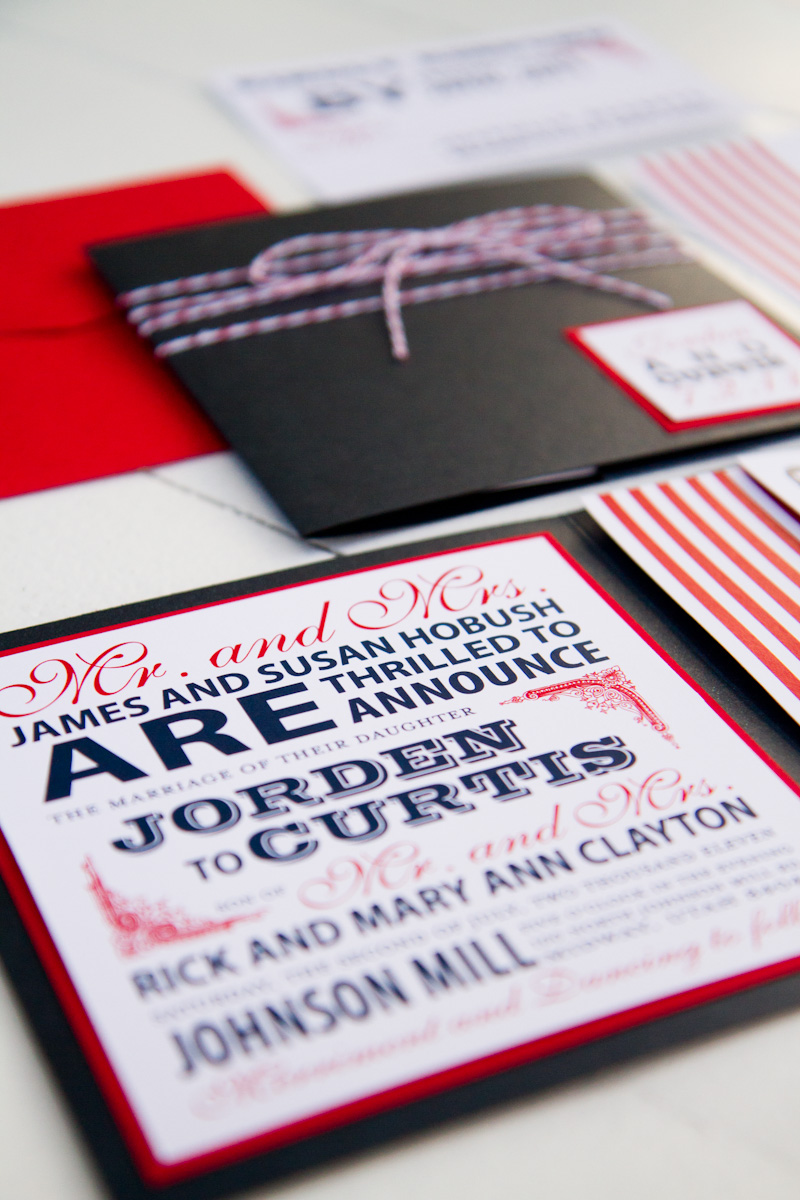 red  white   blue wedding stationery inspiration