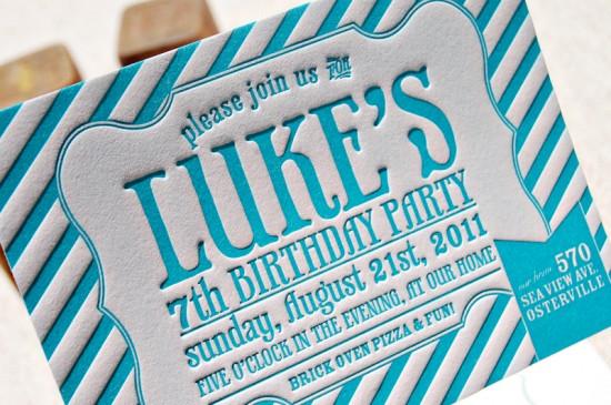Blue-Letterpress-Striped-Birthday-Party-Invitations