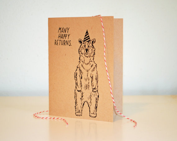 Sweet Simple Illustrated Cards From Moikka