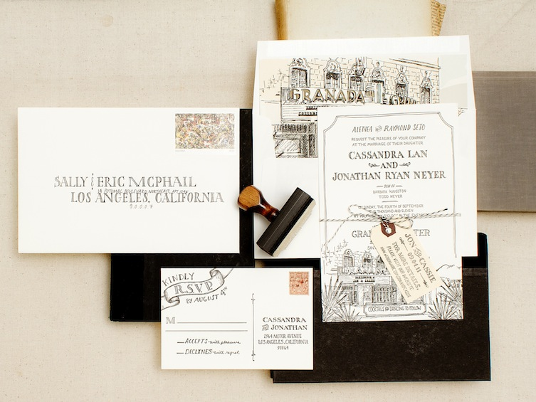 Wedding Invitations From Antiquaria