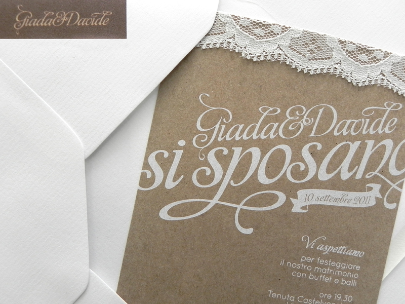 Wedding Invitation Papercraft