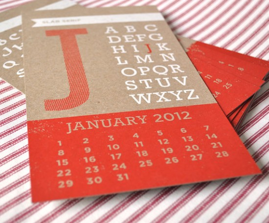 Two-Trick-Pony-Year-of-Type-Calendar