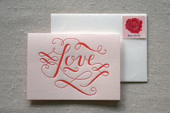 Seasonal Stationery Valentine S Day Cards