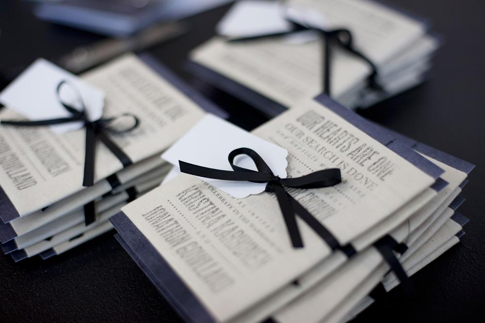 Kristina jons sydney harbor fabric wedding invitations from stopboris Images