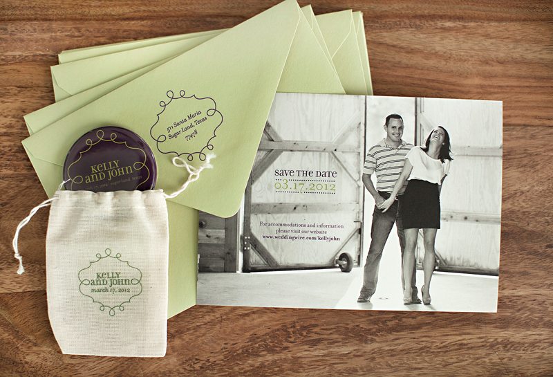 Kelly Johns Modern Wedding Invitations Save the Dates – Wedding Invitations and Save the Dates