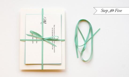 Tiffany Blue DIY Wedding Invitation Suite