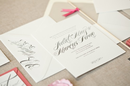 modern wedding invitations from alee   press
