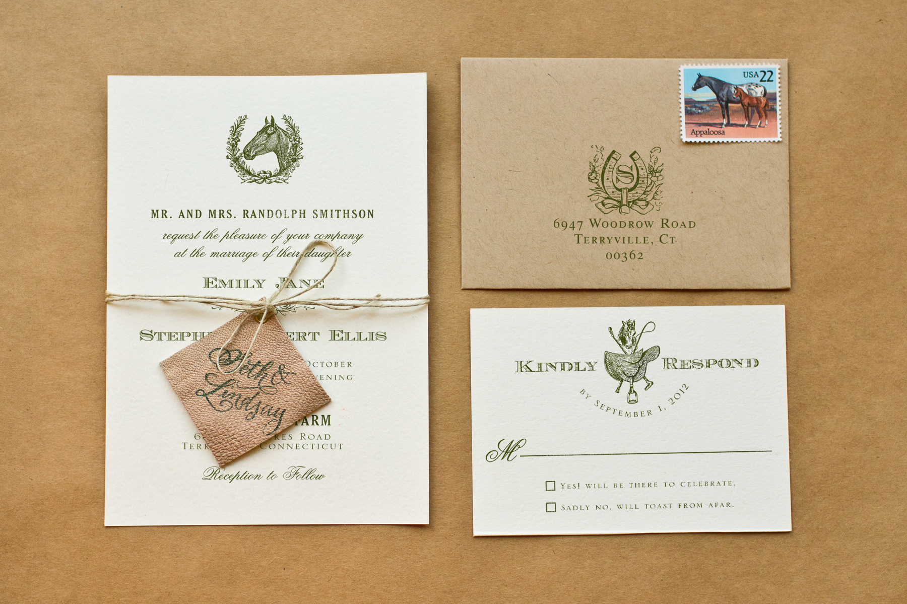 wedding invitation ideas diy equestrian wedding invitations