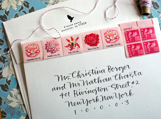 Primele Calligraphy via Oh So Beautiful Paper
