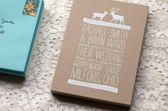 Woodland Wedding Invitations by Rachel Ward via Oh So Beautiful Paper (8)
