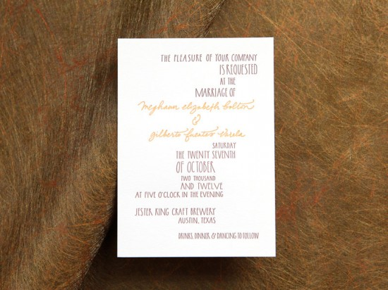 Wedding Invitations Ligature Collection Paperfinger13 550x412 Ligature Wedding Invitation Collection by Paperfinger
