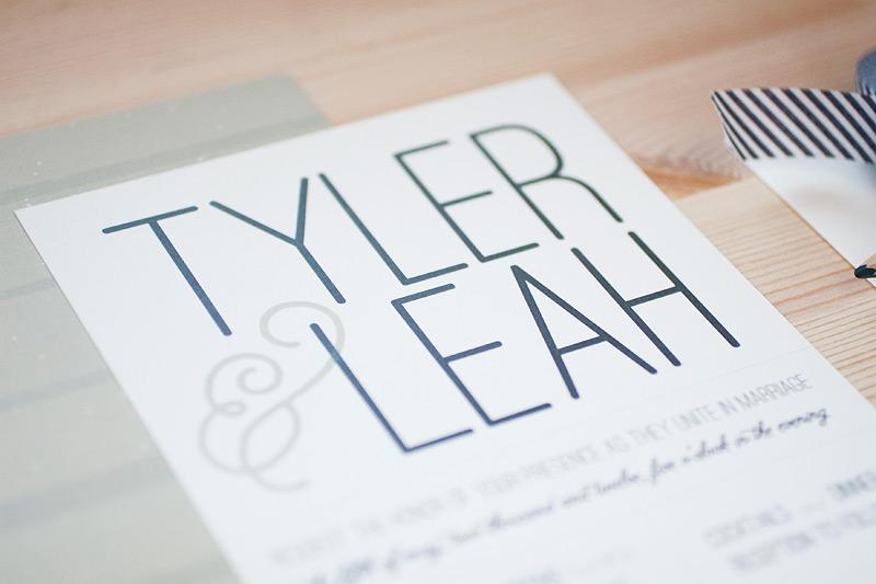 Leah Tylers Modern Vineyard Wedding Invitations – Modern Invitation Cards