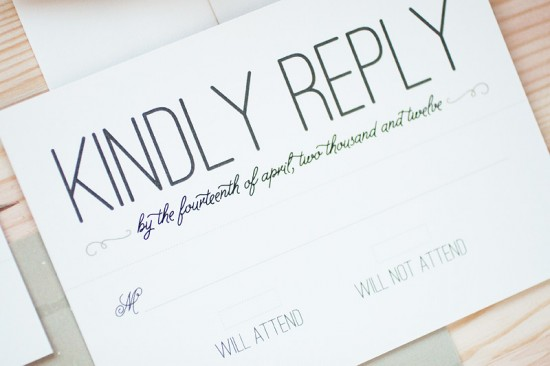 Modern Vineyard Wedding Invitations by Anastasia Marie Cards via Oh So Beautiful Paper (3)