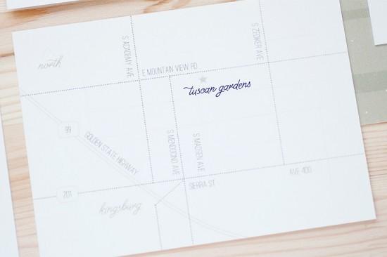 Modern Vineyard Wedding Invitations by Anastasia Marie Cards via Oh So Beautiful Paper (1)