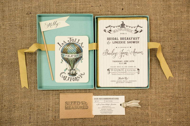 Bridal Shower Invitations By Antiquaria Via Oh So Beautiful Paper 3