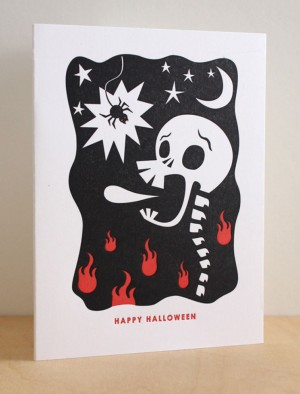 Halloween Cards via Oh So Beautiful Paper