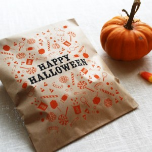 Illustrated Halloween Cards and Treat Bags by Maple and Belmont via Oh So Beautiful Paper (8)