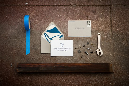 Under Construction House Warming Party Invitations by Cristina Pandol via Oh So Beautiful Paper (1)