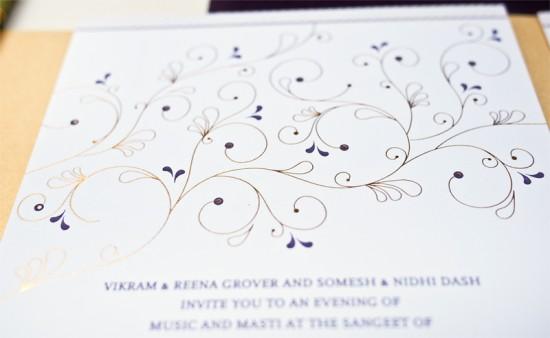 Hindu Wedding Invitations by Rashi Birla via Oh So Beautiful Paper (5)