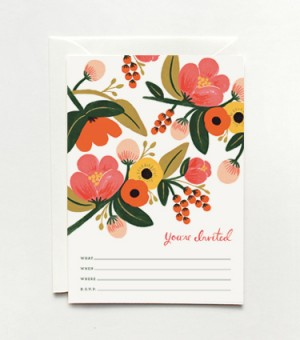 Garden Party Invitations by Rifle Paper Co.