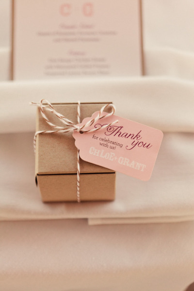 Day-Of Wedding Stationery Inspiration and Ideas: Favor Tags and Labels ...